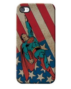 Coque Superman pour iPhone 5 / 5S / SE
