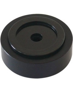 Dynavox 4 pieds d'enceintes en aluminium - noir