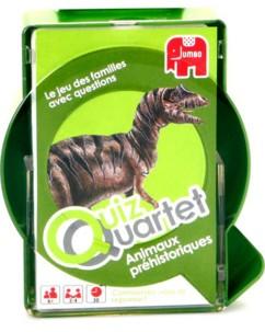 Quiz Quartet - Animaux Préhistoriques