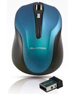 Souris optique sans fil ''Soft Touch 2'' bleue