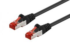 Câble réseau RJ45 Cat. 6 S/FTP Noir - 3m