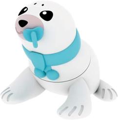 clé usb 16go en gomme forme bébé phoque animalitos amtec