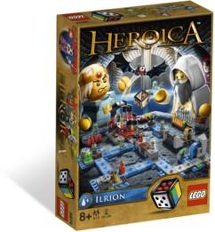 jeu de société lego heroica ilrion plateau de jeu de role avec briques et dés dès 8 ans