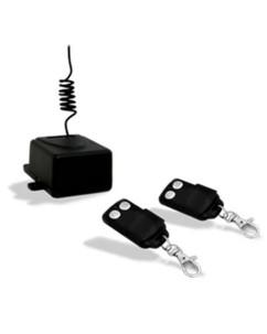 Kit 2 télécommandes universelles 2 boutons + récepteur int.