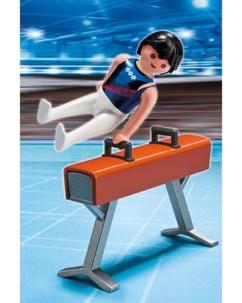 Les Playmobils aux Jeux Olympiques : le cheval d'arçons