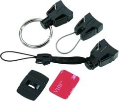 Lot de trois accessoires de fixation pour petits objets