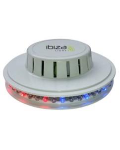 Module à effet de lumière UFO par Ibiza Light - blanc