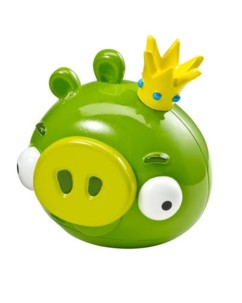 Figurine King Pig pour jeu iOS Angry Birds - Mattel