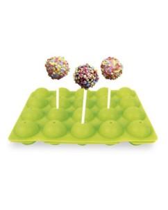 Moule à cake pop en silicone