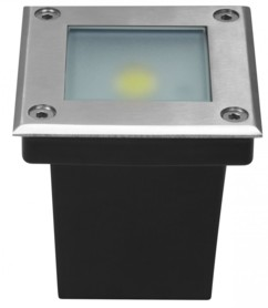 Spot LED COB encastrable et étanche LumiHome - Blanc Chaud