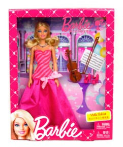 Barbie violoniste soliste