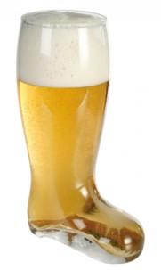Boc à bière forme botte - 2 L