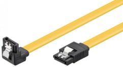 Câble S-ATA III Type L Goobay Coudé - 0,70m