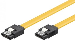 Câble S-ATA III Type L Goobay Plat - 0,30m
