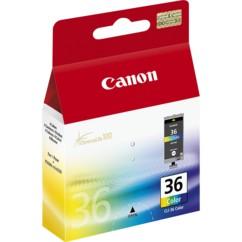 Cartouche originale Canon CLI-36 CL (Couleurs CMJ)