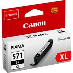 Cartouche originale Canon CLI-571XL BK (Noir)