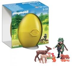 Garde forestier et animaux de la forêt Playmobil 4938