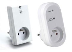 Kit prise Smart wifi avec prise murale télécommandée - Intérieur