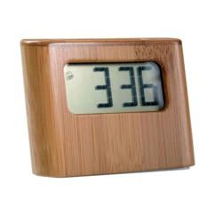 Mini horloge solaire en bambou
