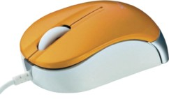 Mini souris optique Trust Nanou - Orange