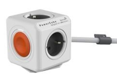 Multiprise Powercube Remote avec rallonge et bouton switch