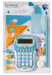 Pack calculatrice et accessoires Lexibook