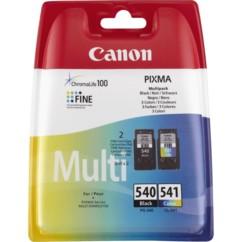 Pack cartouches originales Canon PG540 noir + CLI541 Couleur