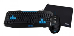 Pack Gaming clavier + souris + tapis Bluestork