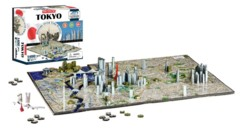 Puzzle 4D ''Métropoles'' - Tokyo