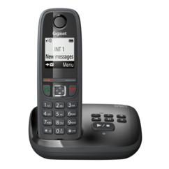 Téléphone sans fil Gigaset AS405A avec répondeur - Noir