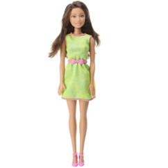barbie friends collection teresa jupe verte avec bague coeur bleu
