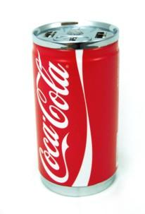 batterie de secours usb forme canette coca 7200 mah