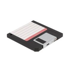 batterie d'appoint 2500 mah usb design disquette informatique floppy thumbs up