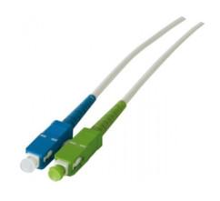 cable fibre optique sc/apc sc/upc pour freebox fibre v2 revolution v6 3m