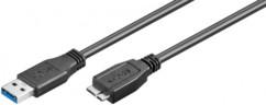 Câble USB 3.0 - Micro B - 1 m