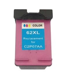 Cartouche remanufacturée HP ''C2P05AE 62'' couleur XL