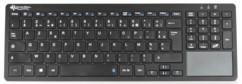 Clavier sans fil ultra-plat avec touchpad pavé tactile et numérique intégré kt7645 general keys