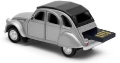 clé usb 16 go design deudeuche deuche 2cv 2 chevaux gris argent autodrive