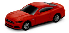 clé usb 2.0 16 go forme fort mustang gt 2015 rouge