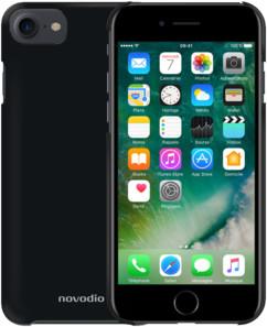 coque noir rigide pour iphone 7 novodio black mamba
