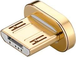 dongle micro usb magnetique de remplacement pour cable de chargement aimanté goobay