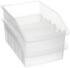 boites de rangement fiches avec compartiments