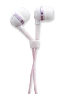 ecouteurs intra auriculaires antec bxh-100 rose spécial basses