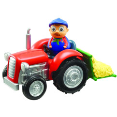 Fermier culbuto Weebles et son tracteur
