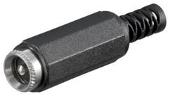 fiche alimentation DC basse tension femelle 2,1 mm