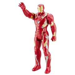 figurine marvel héros titan civil war avengers iron man produit dérivé film