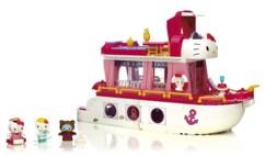Jeu de construction Hello Kitty Mega Bloks - Bateau de croisière