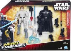 """Jouet Star Wars """"Hero Mashers"""" - Luke et Dark Vador"""
