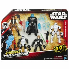 multi pack hero mashers star wars hasbro return of the jedi figurines enfant 4 ans