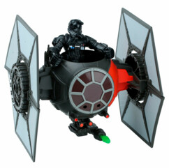 vaisseau spatial star wars tie fighter Hero Mashers hasbro avec figurine pilote empire